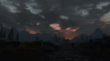 Walk by Whiterun