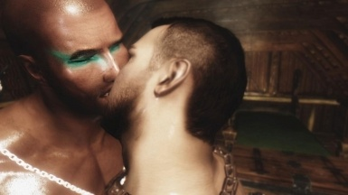 A Gay Kiss in BBF