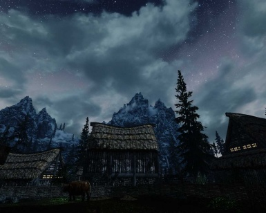 night in skyrim 2k hd