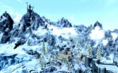 View from the College of Winterhold