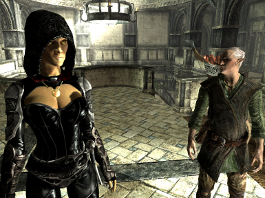 Hanging out with Faendal