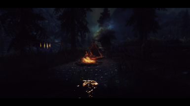 Campfire with ZeroKings Post-Process Effects File
