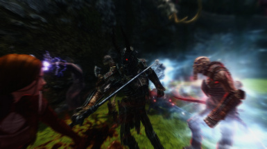 Red-eyed Draugr and friends creating an uncomfortable situation