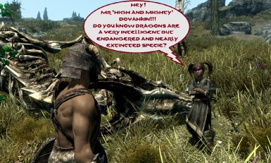 Dragonborn meets an young idealist