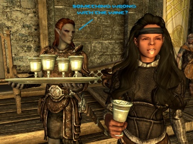 Wine tasting in Dragonsreach
