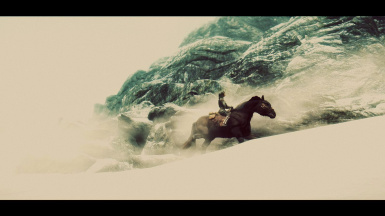 Riding into the tempest