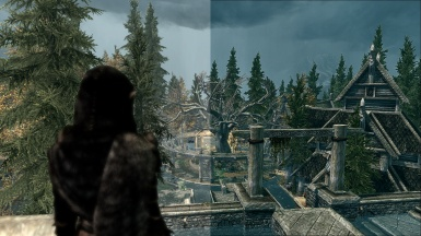 Whiterun Before and After