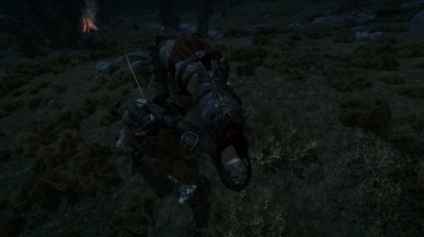 I dodged the attack of a giant