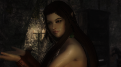 Skyrim female elf