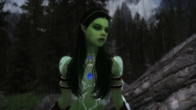 Elves are green skinned hehe