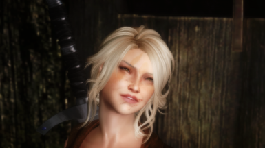 28 year old girl in skyrim slightly different face texture