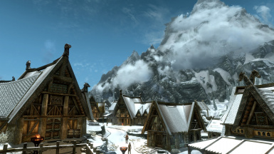 Whiterun in winter