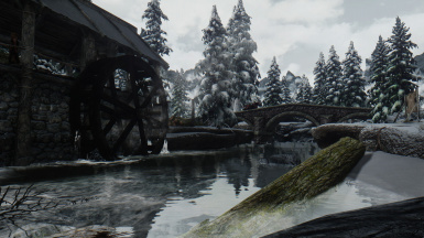 Winter in Falkreath