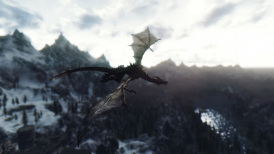Soaring over Helgen