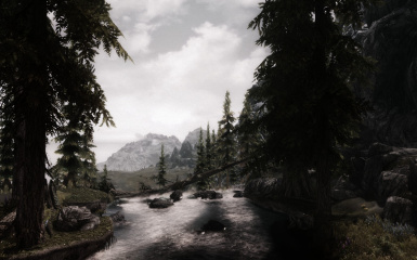 Riverwood with BLEAK and mod list