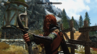 Aela at the Hunt