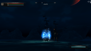 Wizard on the sea of Ghosts