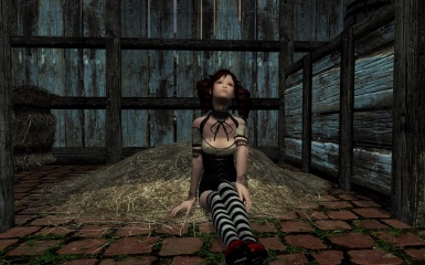 cute poses in a barn 03
