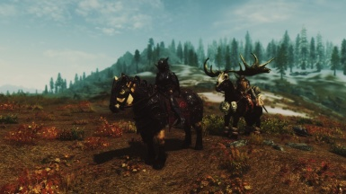 Horse ride with Faendal