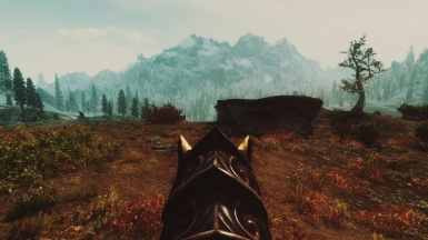 Landscape of Whiterun hold