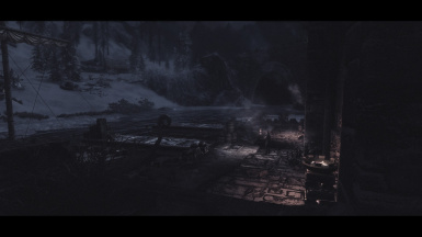 Cold docks in Windhelm