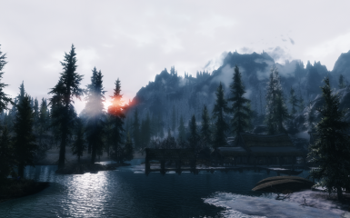Morthal sunrise