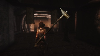 EcthelionOtW Dawnguard Weapons - Runehammer added