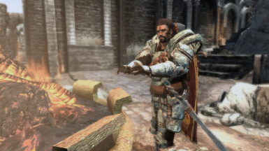Even the mightiest dragonborn get cold