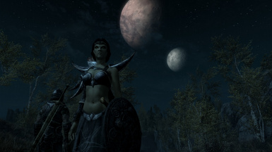 The Two Moons above Tamriel