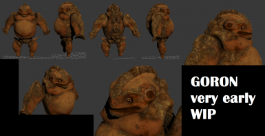 Gorons- very early WIP