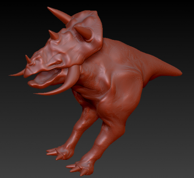 just started my new kagouti model