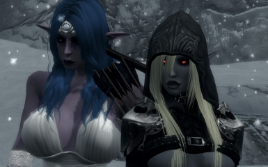 Tyrande and Sylvanas