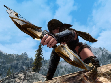 E'lara doing some hunting