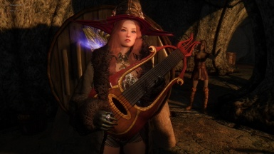 Hear the Dragonborn play the lute