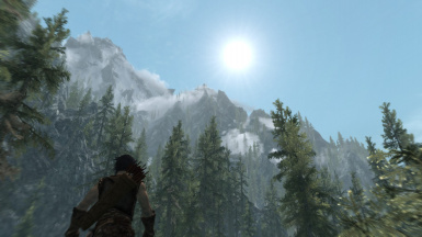 Lovely weather in skyrim