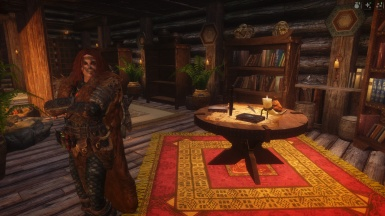 Aela at home