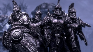 Warriors Shielded In Ancient Metal