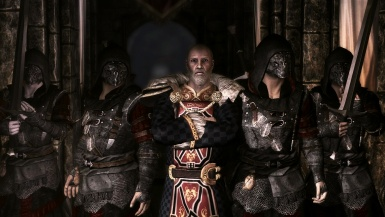 Emperor Titus Mede and his Imperial special forces