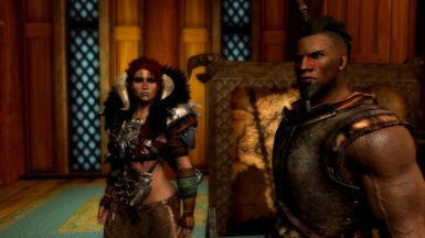 Deviahn and Gorr hangin' in Dragonsreach