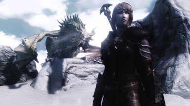 Dovahkin And Paarthurnax