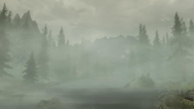 Falskaar with COT and Weather Patch - Fog Rain Overcast and Project ENB