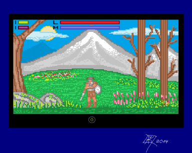 How Skyrim could look like on MS-DOS in VGA Mode