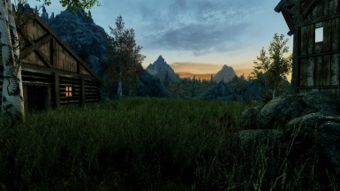 evening at the lodge