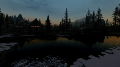 Morthal at dusk