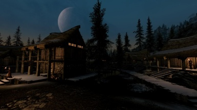 Morthal and the moon