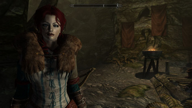 Sayaki with Triss armor
