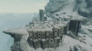 High Hrothgar aeriel view