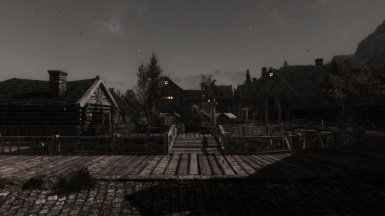 Dawn at Riften - Bleak ENB