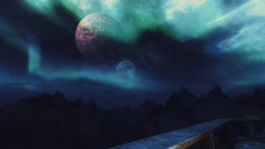 Grim and Somber ENB with Aurora