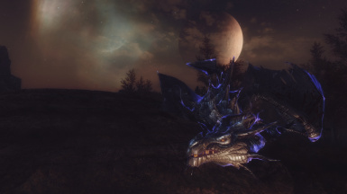 Somber 3 ENB with Pure Weathers Moon Glow Parallax and SFO Mighty Dragons
